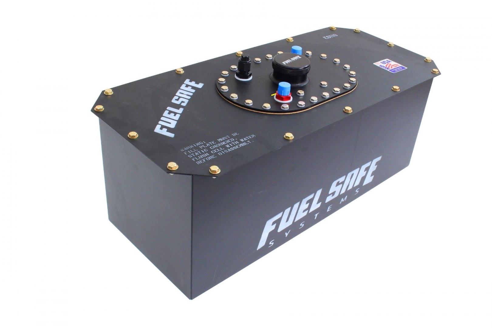 FuelSafe Zbiornik Paliwa 35L FIA z obudową stalową - GRUBYGARAGE - Sklep Tuningowy
